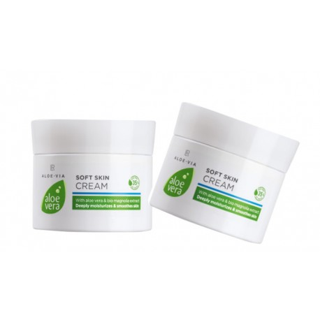 Aloe Vera Soft Skin Cream 2-pack