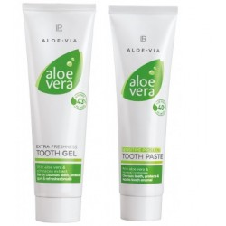 Aloe Vera Tooth Gel & Sensitive Tooth Gel